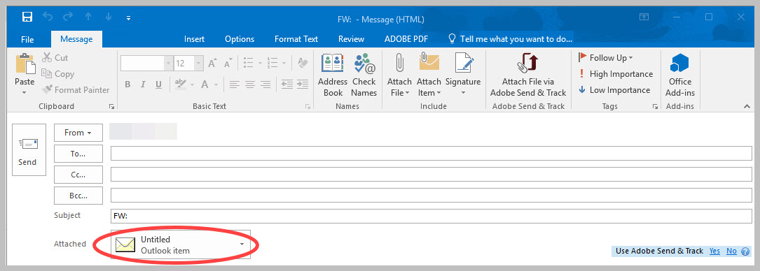 Article - How to forward an email as